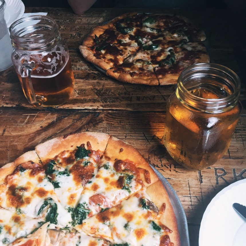 Did it taste like the best pizza I've ever had? yes.